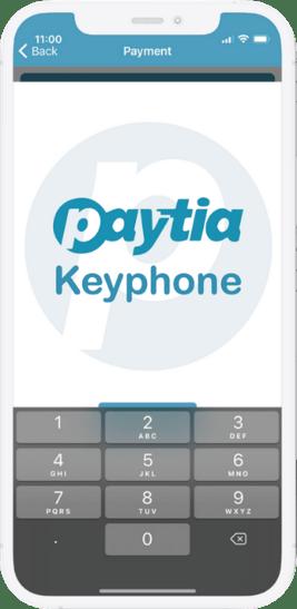 Keyphone on phone