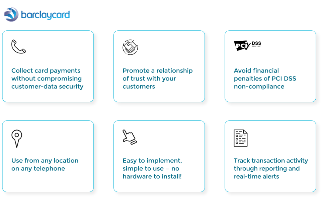Barclaycard payment by phone