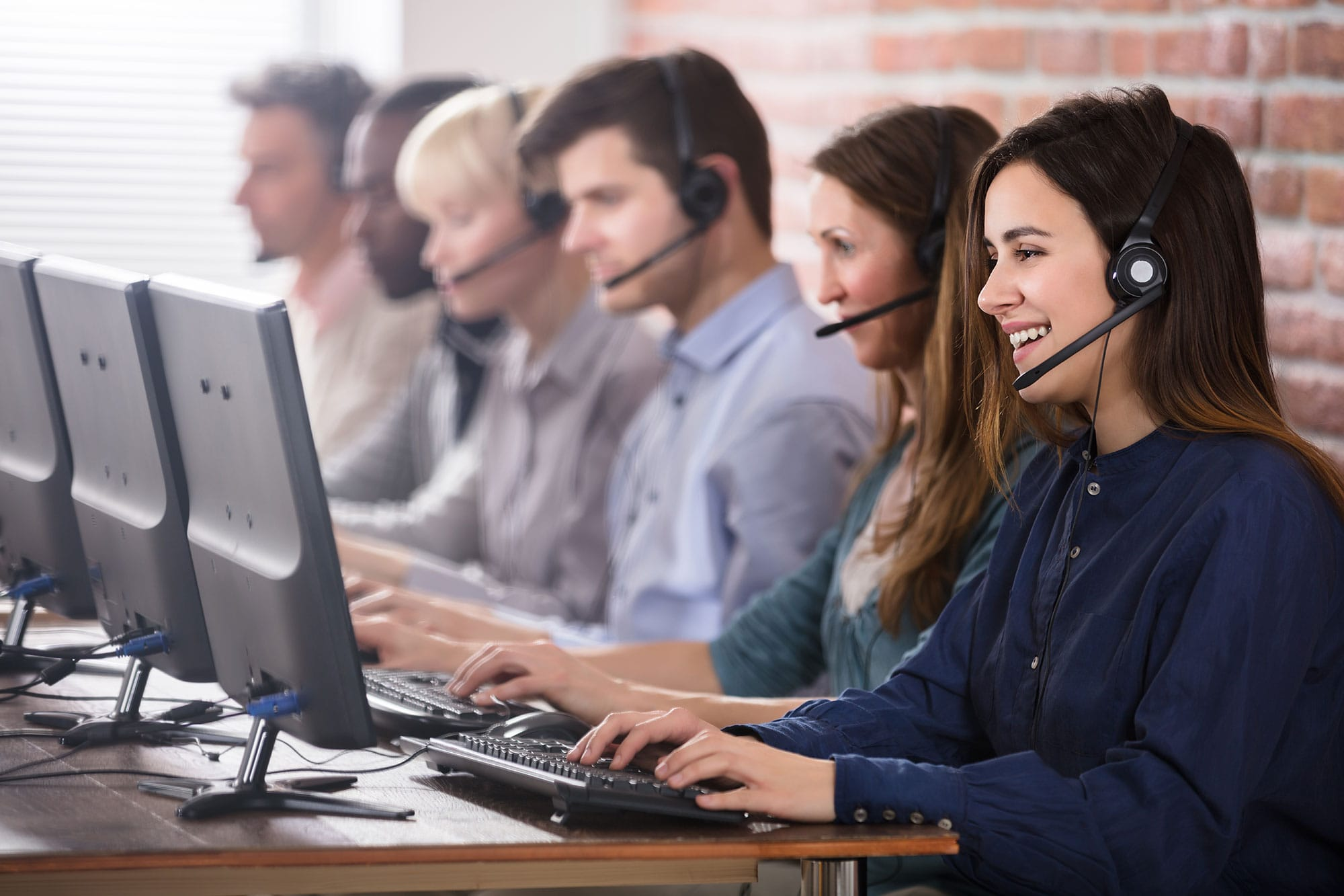 Payment by phone call centre