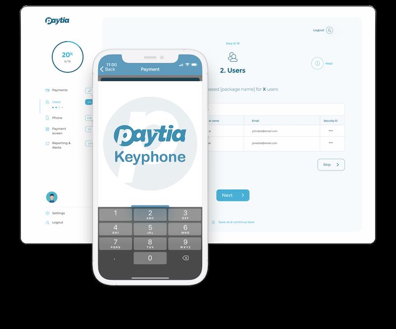 Keyphone and Secure Virtual Terminal